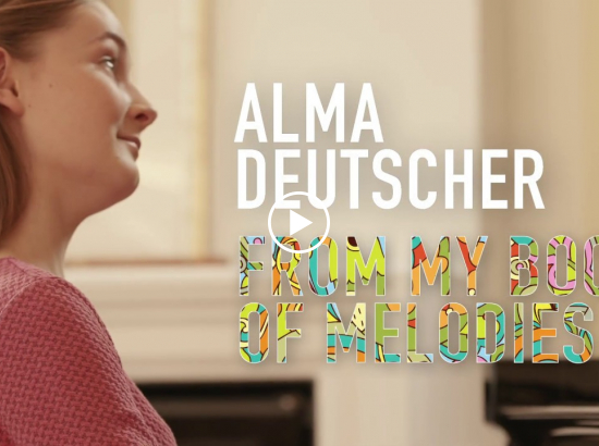 Embedded thumbnail for Alma Deutscher: I Think of You